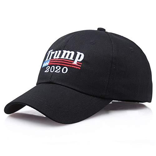 Encorashop Make America Great Again Hat Donald Trump 2020 Campaign Cap (Trump 2020 Cap Black)