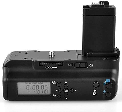Meike Vertical Battery Grip with LCD Screen Display as BG-E8 Replacement for Canon EOS 550D 600D 650D 700D//Rebel T2i T3i T4i T5i DSLR Cameras