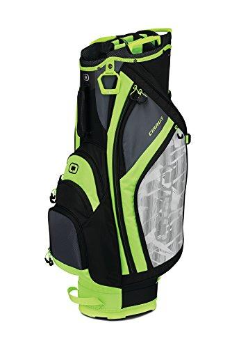 OGIO 2018 Cirrus Cart Bag, Bolt Green - Mountain Putter Golf Bag