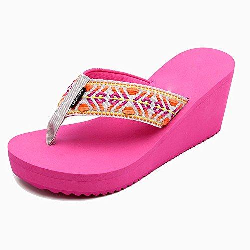 Zapatillas Mujer De Verano Altas Nan Lovely Ropa IgybvYf76
