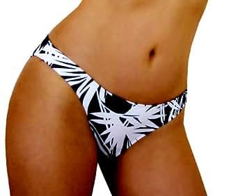 Jax Couture Designer Swimsuit Separates: Full Cut Lowrise Bottom (Bottom Size 9, Batik Collection)