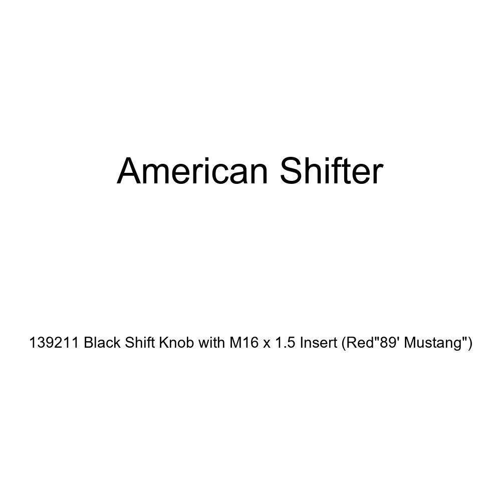 Black Technical Sergeant American Shifter 124635 Green Stripe Shift Knob with M16 x 1.5 Insert