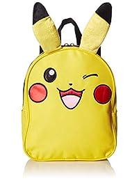 "Pokemon ""Pikachu"" Mini Backpack, 10"", Yellow"