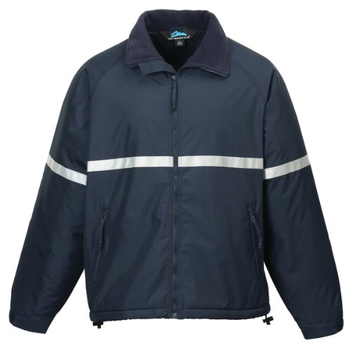 (Tri-mountain Men windproof/water resistant heavyweight safety jacket. 8835 - NAVY_3XL)