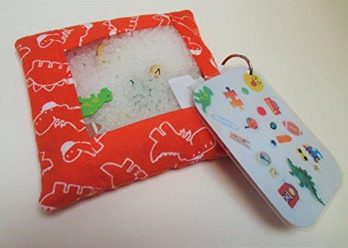 Dinosaur busy bag, quiet activity, fine motor ()