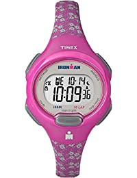 Timex Women's TW5M07000GP Ironman 10-Lap Mid Size Pink Dial Wrist Watch