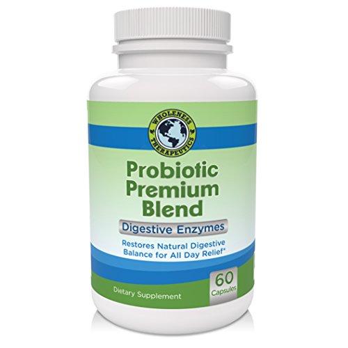 Meilleur supplément de probiotiques pour femmes, hommes et enfants, de promouvoir la santé du système immunitaire et la santé du côlon, le soulagement de la diarrhée, la constipation, IBS, le gaz, l'acné, le reflux acide, le muguet et les infections vagin