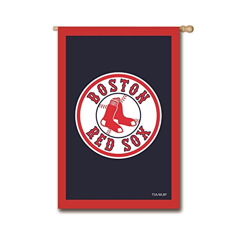 (Ashley Gifts Customizable Applique Regular Flag, Double Sided, Boston Red Sox)
