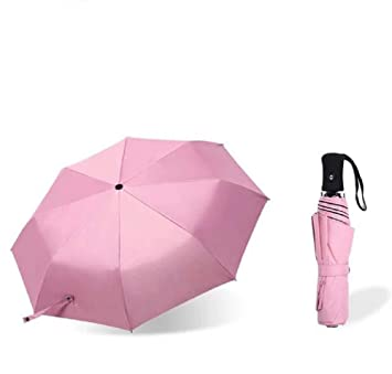 553bf664192a Amazon.com: Shinok Mini Travel Umbrella Compact Women Purse Size ...