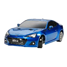 RCECHO® Tamiya EP RC Car 1/10 SUBARU BRZ DRIFT SPEC TT01D Type E Chassis with ESC 58565 with RCECHO® Full Version Apps Edition