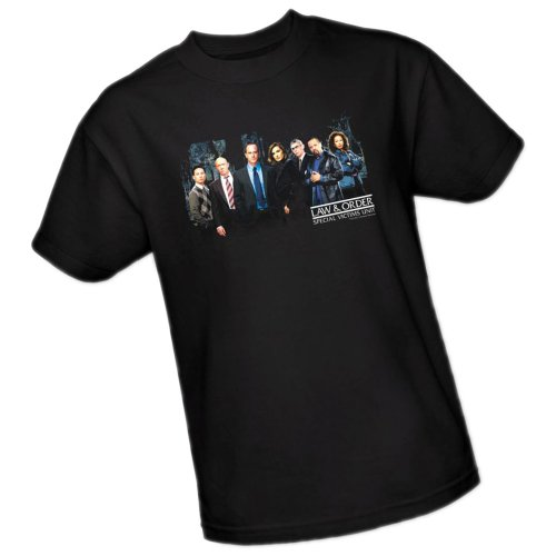 Cast -- Law & Order Special Victims Unit Adult T-Shirt, Small