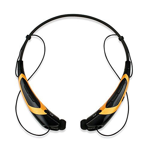 GEARONIC TM Bluetooth Headphone BlackGold