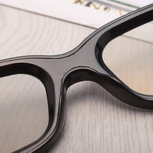 shizhongminghe-UK Universal Unisex ABS Frame 3D Movie Glasses Stereo Not Flash For 3D TV Cinemas black