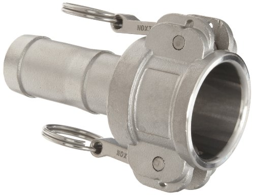 Dixon G100 C Ss Investment Cast Stainless Steel 316 Global Type C Cam And Groove Hose Fitting  1  Socket X 1  Hose Id Push On