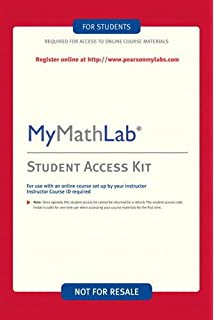 Mymathlab student access kit hall h pearson education mymathlab student access kit fandeluxe Images