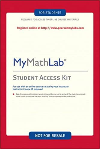 MyMathLab Student Access Kit 9780321199904 Books