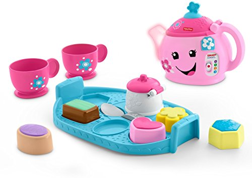 Fisher-Price Laugh & Learn Sweet Manners Tea Set (Tea Set For Toddlers)