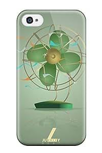 Case For Samsung Galaxy S5 Cover Fashion Design July Heat Vintage Fan Green Nature Summer Case-UDmqTaT5252QZKmb