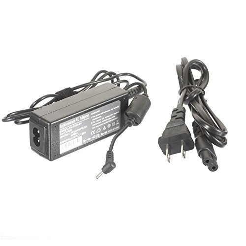 AC Adapter Power Supply Charger for Asus Eee PC 1001PXD-EU17-BK 1001PXD-MU17-BU 1011CX-MU27-BK 1011PX 1015PX-RWT304 1025C-MU17-WT X101CH-EU17-BK