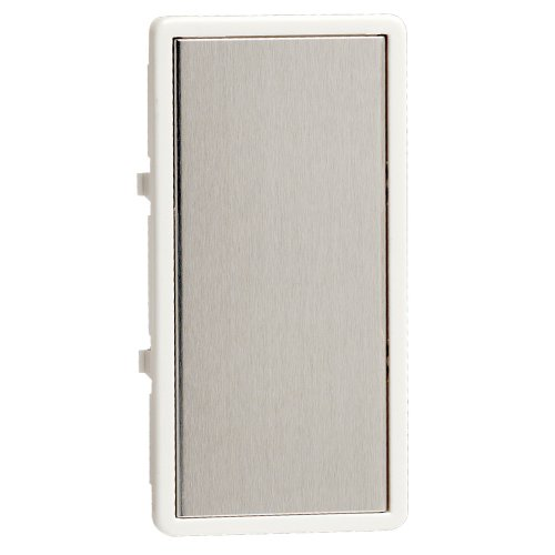 Leviton TTKTR-WS, Color Change Kit for True Touch Remote Dimmer, White Frame-Silver Touch Plate (Frame Color Leviton)