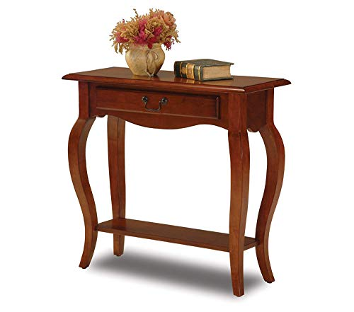 Deluxe Premium Collection Hall Console Table Brown Cherry Decor Comfy Living Furniture