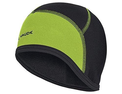 (VAUDE Bike Cap, Black/Chute, Medium)