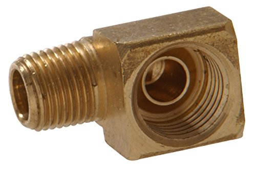 Hillman 58339 Brass Inverted Flare Fitting, 90-Degree Elb...