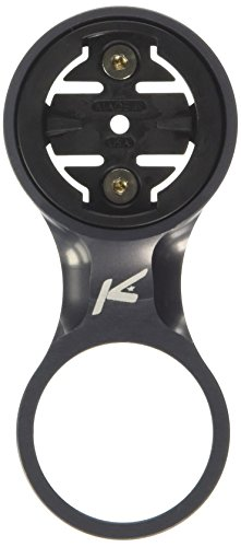 K-Edge Stem Mount for Garmin Computers – Fixed Gunmetal, One Size