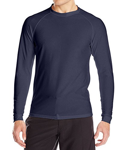 - Loose Fit Swim Shirts For Men - Long Sleeve UV 50 + Sun Protection Swimwear - Play In The Sun All Day With No Sunburn - The Softest Most Comfortable Swimming Clothing (Charcoal Gray, 3XL)