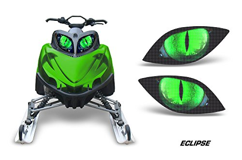 AMR Racing Sled Headlight Eye Graphic Decal Cover for Arctic Cat M Series Crossfire - Eclipse ()