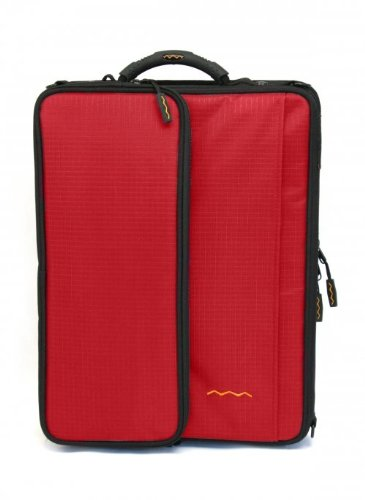 Shuttle 2.1 Notebook Case Color: Red, Size: 15