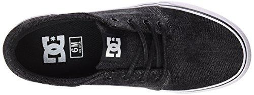 DC Negro para Hombre Zapatillas Trase TX LE Out Shoes Washed Black p0Ppq7