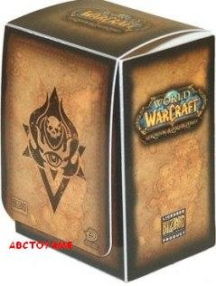 Ultra Pro World of Warcraft Trading Card Game Card Supplies Deck Box (Neutral Style)