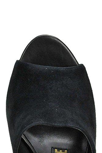 Suede Sandals Maconie Black Women's Kat MCGLCAT04022I aq4IXqR