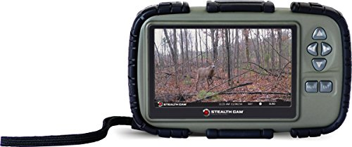 Stealth Cam SD Card Reader and Viewer with 4.3'' LCD by Stealth Cam