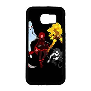 Anime RWBY Phone Case for Samsung Galaxy S6 Classical Graceful Durable Cover Shell Classical RWBY Series Pattern Cover