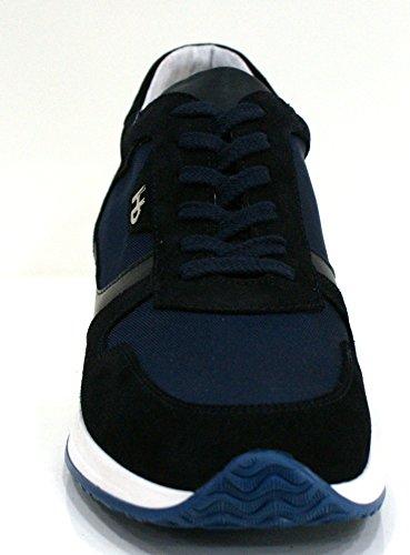 Blu Cm Hornet 5 45 Sneaker Botticelli Camoscio Interactive Uomo Alta g8qqv4f