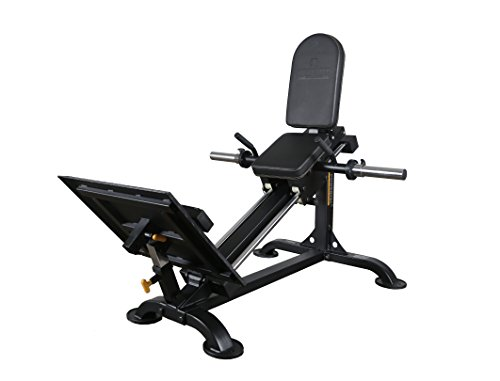 Powertec Fitness Compact Leg Sled Black