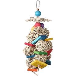 Super Bird Creations 10 by 4-Inch Starburst Bird Toy, Medium