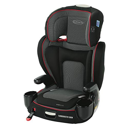 Graco Turbobooster Grow Highback Booster Featuring Rightguide Seat Belt Trainer, Dax