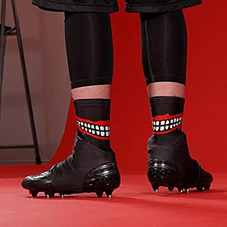 e27c5434eb9 Image Unavailable. Image not available for. Color  Smile Black Spats Cleat  Covers