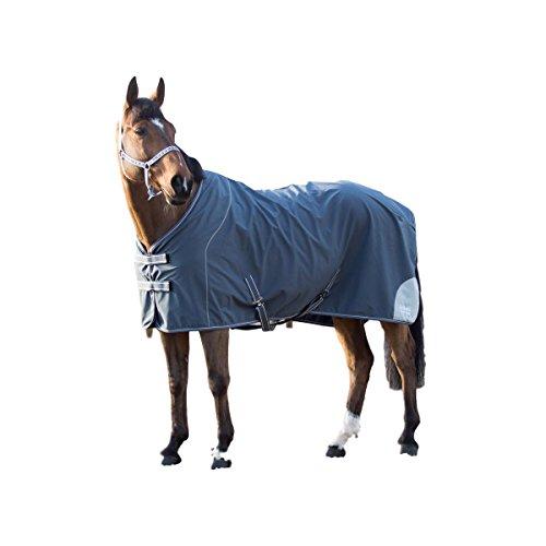 Horze Supreme Barton Softshell Blanket, Castle Rock Dark Grey, - Shell Barton