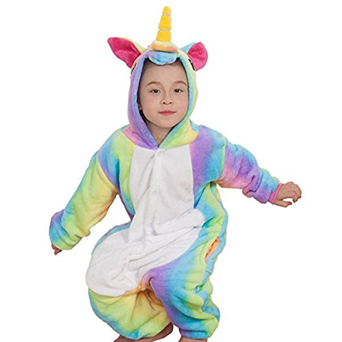 Amazon.com: CuteOn Childrens Carnival Costumes Kids Flannel Pegasus Onesie Animal Cosplay: Clothing