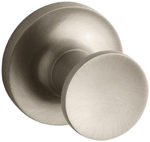 Brushed Bronze Wall - Kohler K-14443-BV Purist Robe Hook, Vibrant Brushed Bronze