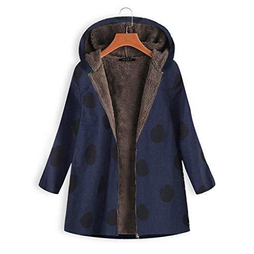 Alimao Womens Floral Coats Warm Floral Print Faux Plush Vintage Jackets Hooded Outerwear 2019 Mini Shirt Dress