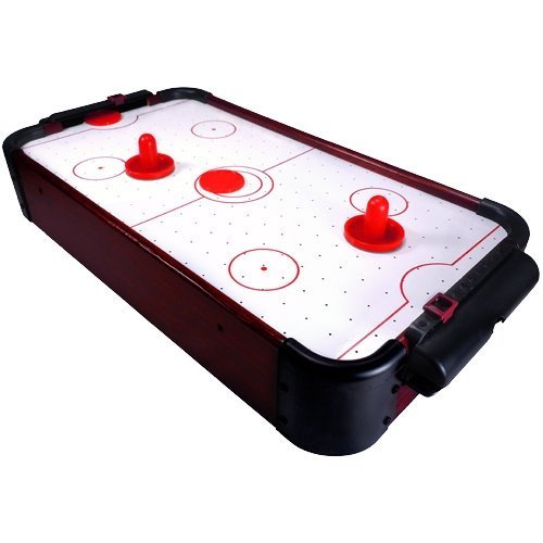 Mini Air Hockey Tabletop Game for Kids 20'' Long