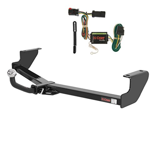 - CURT Class 2 Trailer Hitch Bundle with Wiring for Chrysler Town & Country, Dodge Caravan - 120942 & 55376