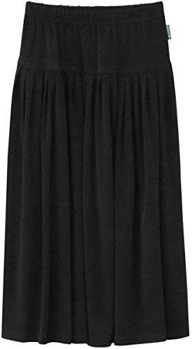 - Baby'O Girl's Original Biz Style Long Ankle Length ITY Slinky Knit Skirt
