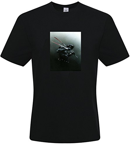 Joe American Hero T-shirt - DIY Men's Tshirts,Custom American Hero G.I.JOE T-shirts,(Black XX-Large)