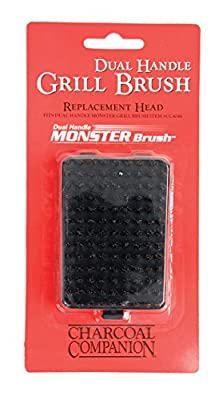 Charcoal Companion Monster Brush Replacement Head for Monster Grill Cleaning Brush